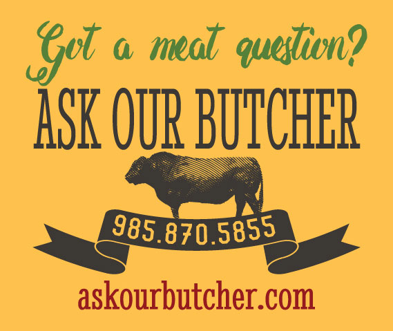 Ask Our Butcher