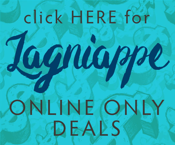 Click here for Lagniappe online only deals