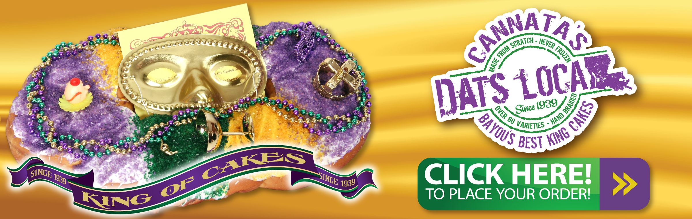 It's King Cake Time!