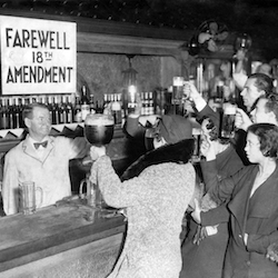 Prohibition repeal 1933